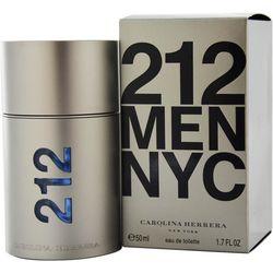 Carolina Herrera Mens 212 EDT Spray 1.7 oz.