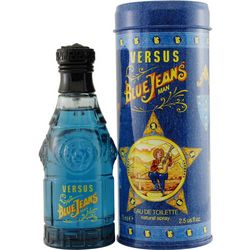 Gianni Versace Mens Blue Jeans EDT Spray 2.5 oz.