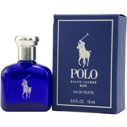 Ralph Lauren Mens Polo Blue EDT .5 oz.