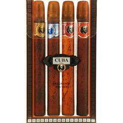 Cuba Mens 4 pc Cologne Variety Gift Set