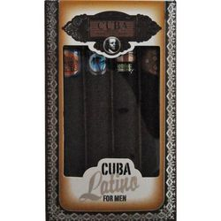 Cuba Mens Latino Cologne Variety 4 pc Gift Set