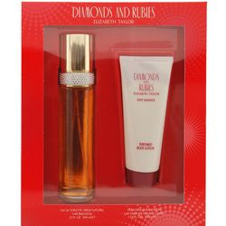 Diamonds & Rubies Womens 2 pc Perfume Gift Set