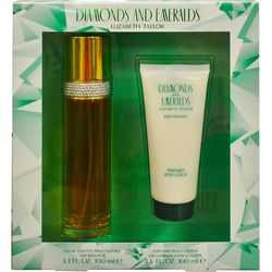 Diamonds & Emeralds Womens 2 pc Perfume Gift Set
