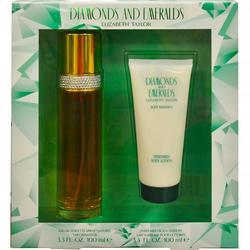 Diamonds & Emeralds Womens 2 pc Perfume Gift Set