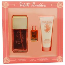 White Shoulders Womens 3 pc Perfume Gift Set