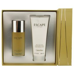 Calvin Klein Mens Escape 2 pc Cologne Gift Set