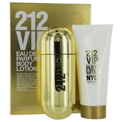 212 VIP Womens 2 pc Set EDP Spray and Body Lotion