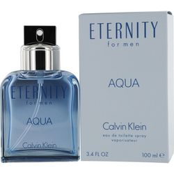 Calvin Klein Eternity Aqua Mens EDT 3.4 oz. Spray