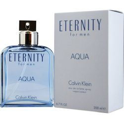 Calvin Klein Mens Eternity Aqua EDT Spray 6.7 oz