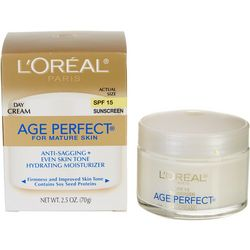 L'Oreal Womens Age Perfect For Mature Skin Day Cream