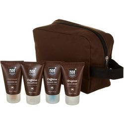 Man Cave Mens 4-pc. Natural Grooming All Over Travel Kit