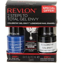 Revlon 2-Step Wild Card Gel Envy Nail Polish Set