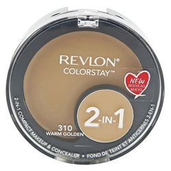 Revlon Womens Colorstay 2-In-1 Compact Makeup & Concealer