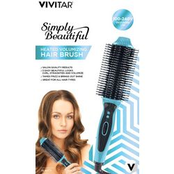 Vivitar Simply Beautiful Heated Volumizing Hair Brush