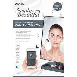 Vivitar Simply Beautiful Bluetooth Speaker Vanity Mirror