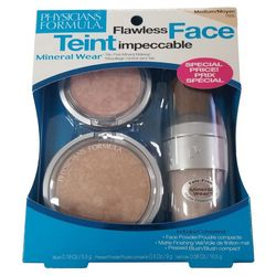 Physicians Formula Flawless Medium Mineral Wear Makeup Kit