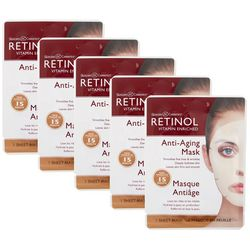 Retinol Vitamin Enriched Anti-Aging Sheet Masks