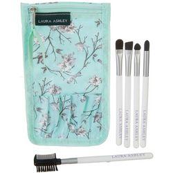 Laura Ashley 5-pc. Complete Makeup Brush Kit & Travel Case