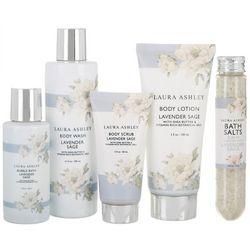 Laura Ashley Lavender Sage 5-pc. Bath Care Collection
