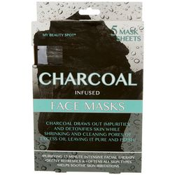 My Beauty Spot 5-pk. Charcoal Infused Face Masks