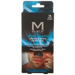 MBlack Mens Charcoal Infused Nose Strips