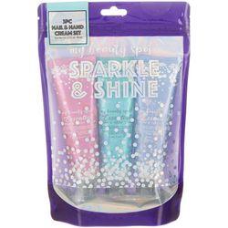 My Beauty Spot Sparkle & Shine 3-pc. Floral Hand Cream Set