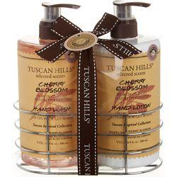 Tuscan Hills Cherry Blossom Hand Wash & Lotion Set