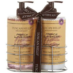 Tuscan Hills French Lavender Hand Wash & Lotion Set