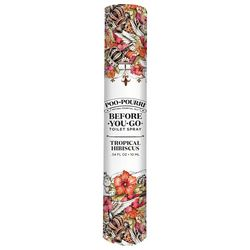 Poo-Pourri 0.34 fl. oz. Hibiscus Before You Go Toilet Spray