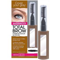 Fisk Total Brow Medium Brown Eyebrow Sealer & Color