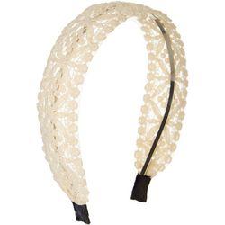 Twig and Arrow Womens Lace Overlay Headband