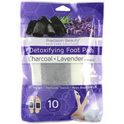 Precision Beauty Charcoal & Lavender Detoxifying Foot Pads