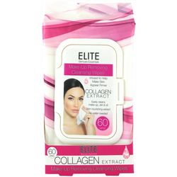 Elite Collagen Extract Makeup Cleansing Wipes