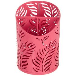Elite Palm Cutout Metal Divided Cup Organizer