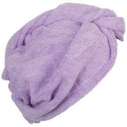 Spa Bella Solid Microfiber Hair Towel Turban