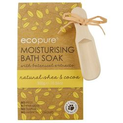Eco Pure Natural Shea & Cocoa Moisturizing Bath Soak