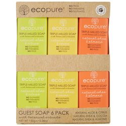 Eco Pure 6-pk. Triple Milled Bar Soap