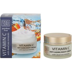 Dead Sea Collection Vitamin C Anti-Aging Night Cream