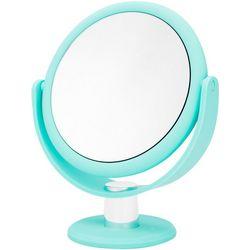 Danielle Seafoam Blue 10x Magnifying Round Mirror