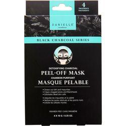 Danielle 4-pk. Detoxifying Charcoal Peel-Off Face Masks