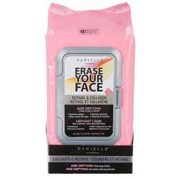 Danielle Erase Your Face Retinol & Collagen Facial Wipes