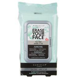 Danielle Erase Your Face Tea Tree Facial Wipes