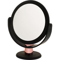 Danielle Black & Rose Gold Tone Mirror