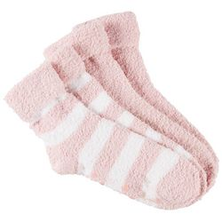 Therawell Womens 2-pk. Striped Moisturizing Infused Socks