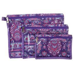 Sage & Emily 3-pc. Gypsy Print Bath & Body Organizer Bag Set