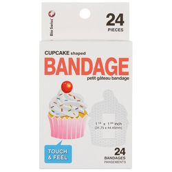 Revele 24-pk. Cupcake Shaped Bandages