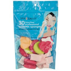 Spa Savvy 30-pc. Latex-Free Professional Cosmetic Sponges