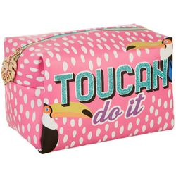 Jade & Deer Toucan Do It Loaf Cosmetic Bag