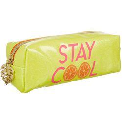 Jade & Deer Stay Cool Rectangular Cosmetic Bag