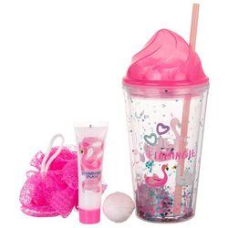 Simple Pleasures Let's Flamingle Confetti Cup Bath Set